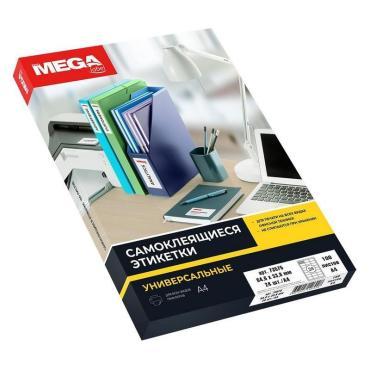 Этикетки самоклеящиеся Promega label 64,6х33,8 мм /24 шт. на листА4 (100 ли