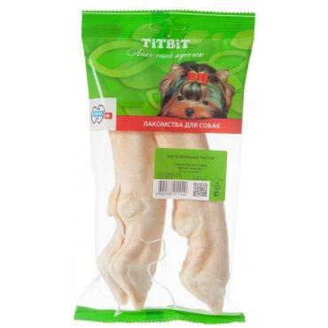 Лакомство для собак Нога баранья малая 2, TitBit, 100 гр., пластиковый пакет