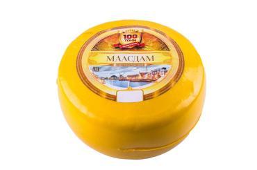 Сыр Маасдам 45% 100 ТОНН, 8 кг., вакуумная упаковка