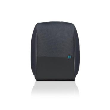 """Рюкзак с защитой от воров, для ноутбука 17"""" с USB разъёмом для power bank со скрытыми защищёнными карманами, BG Berlin, Metrobag, LightBlue 900 гр."""