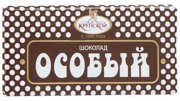 Шоколад темный десертный с тонкоизмельченным добавлением, Славянка Особый, 250 гр., обертка фольга/бумага