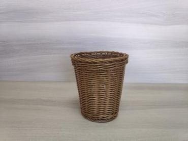 Корзина пластиковая 13,5*15 cм., Brown