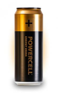 Энергитический напиток Оригинальный Powercell Original 450 мл., ж/б