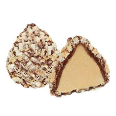 Конфеты со сливочной начинкой в вафельной крошке, Золотая Русь, Золотые Грани, 150 гр., картонная коробка