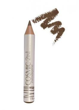 Тени-карандаш для век 2в1 тон 402 Magnetic brown LiLo Cosmic, пластиковая упаковка