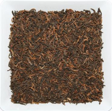 Чай черный пуэр 5 лет ZellWell Гун Тин, 100 гр., пакет из триплекса