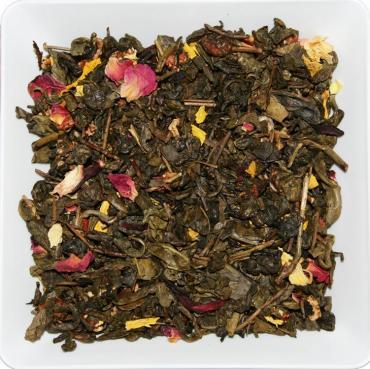 Чай зеленый ZellWell Яблоневый сад, 100 гр., пакет из триплекса