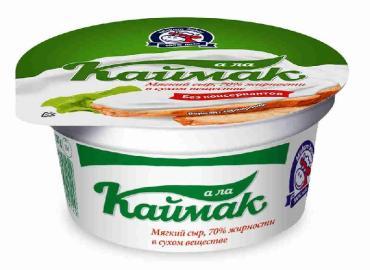 Каймак 15% Кавказский молочник, 450 гр., стакан