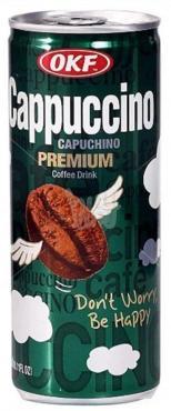 Напиток кофейный Lotte OKF Caffe Cappuccino, 240 мл., жестяная банка
