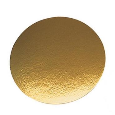 Подложка золото d=80 мм., толщина 80 мм.