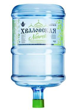 Вода питьевая Хваловская Naturelle, Хваловские Воды, 18,9 л., бутыль