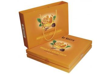 Конфеты Династия шоколадные с апельсином, 205 гр., картон