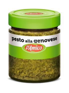 Соус Песто по-Генуэзски, D'Amico, 130 гр., стекло
