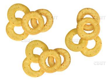 Печенье колечки с луком Дымка 1,5 кг.