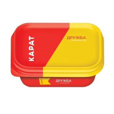 Плавленый сыр Карат Янтарь, 200 гр., пластиковый контейнер