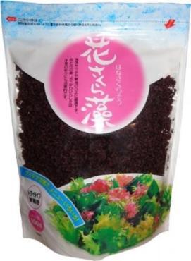 Водоросли морские сушеные Ака Тосака-Сакура красные, Kaneryo, 100 гр., пакет