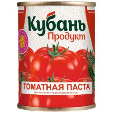 Томатная паста, Кубань продукт, 770 гр., жестяная банка