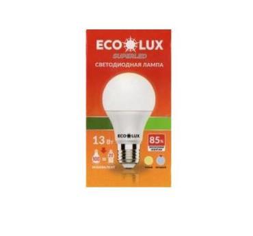Лампочка светодиодная 13ВТ, ECO LUX Е 27картон