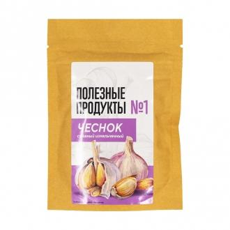 Чеснок измельченный сушеный Полезные продукты, 60 гр., дой-пак
