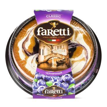 Торт Faretti Итальянский десерт Черничный