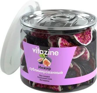 Инжир сублимированный, Vitazine, 36 гр., стекло