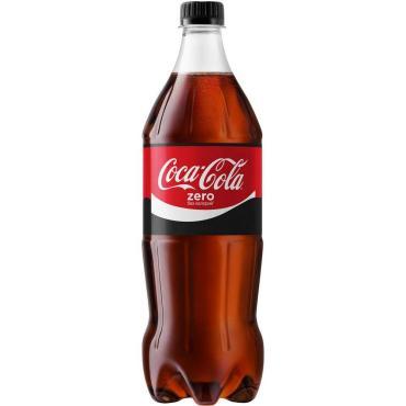 Напиток Coca-Cola газированный Zero КЗ , 900 мл, ПЭТ