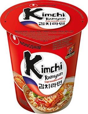 Лапша быстрого приготовления КимчиKimchi Cup Noodle Soup, Nongshim, 75 гр., ПЭТ