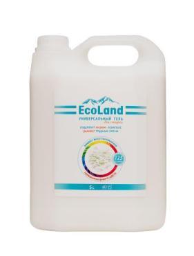 Гель для стирки универсальный EcoLand, 5 л., канистра