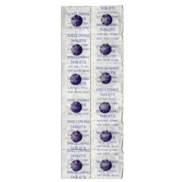 Таблетки для определения налета, 12 шт., Curaprox , сашет