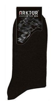 Носки Л 202 черный, 2 размер, мужские 42-43, Arktur, картон