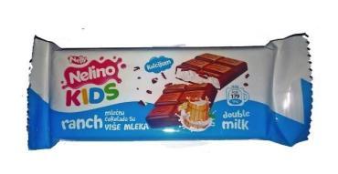 Шоколад Kids Ranch Double Milk (П-374), , Nelino, 32.5 гр., флоу-пак