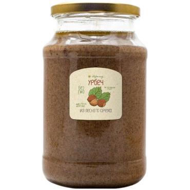 Урбеч Добрые традиции из лесного ореха (фундука), 1 кг, стекло