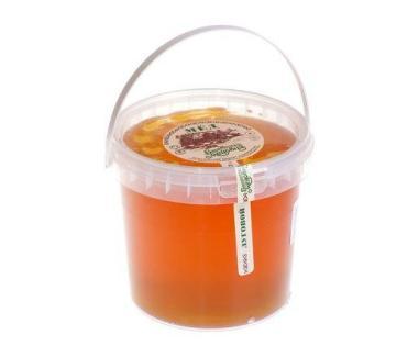 Мёд цветочный Башкирская медовня, 1,4 кг., пластиковое ведро