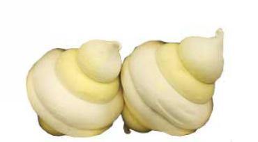 Зефир со вкусом ванили, ананаса Зефирный городок, Кронштадтская КФ, 1 кг., картон