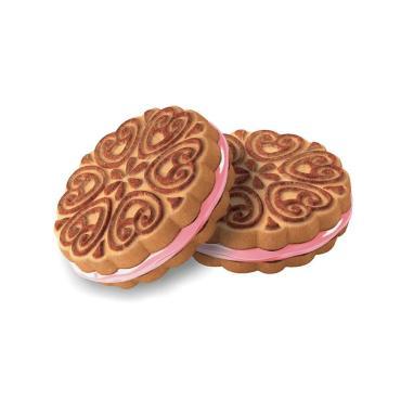 Печенье Сэндвич с Клубничным Вареньем Внучка,Сладкая слобода, 4 кг.