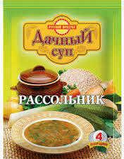 Суп Русский Продукт дачный рассольник, 65 гр, сашет