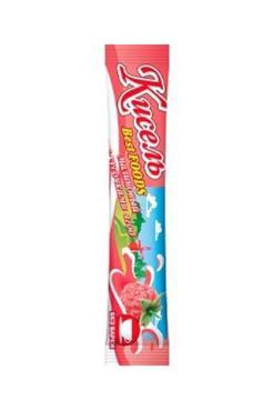 Кисель б/п Малина с кусочками ягод на натуральном соке Best Foods, 25 гр., флоу-пак