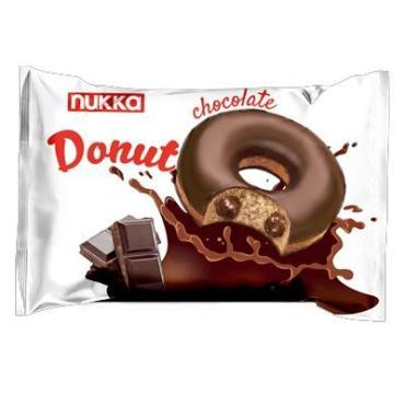 Пончик, Nukka donut chocolate, 40 гр., флоу-пак