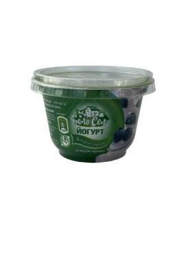 Йогурт Черника м.д.ж.2,5% ТУ 9222-078-45136978-2013 в соответствии с ГОСТ 31981-2013, Бело Село, 1 л, ПЭТ
