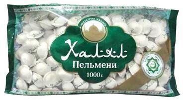 Пельмени, Корона Халял, 1 кг., флоу-пак