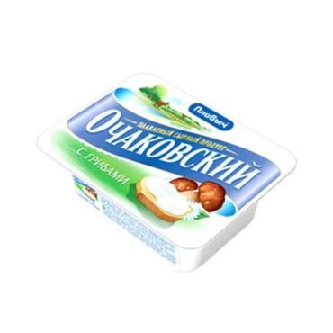 Продукт плавленный с сыром с грибами Плавыч Очаковский 180 гр., пластиковый контейнер