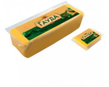 Продукт плавленый с сыром гауда Плавыч, 250 гр., вакуумная упаковка