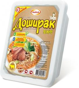 Лапша с телятиной Доширак, 90 гр., пластиковый контейнер