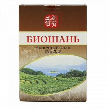 Чай молочный улун БиоШань Milky Oolong, 80 гр., картон