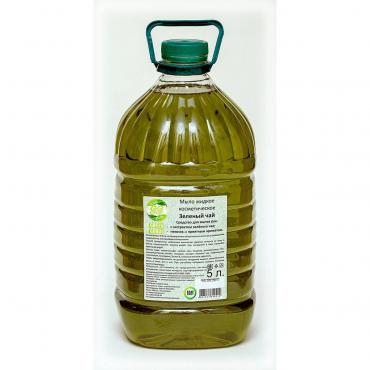 Мыло жидкое косметическое Зеленый чай , Green Goods, 5 л., канистра