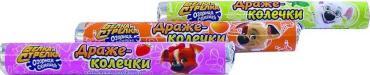 Драже со вкусом апельсина, Конфитрейд Белка и Стрелка, 29 гр., обертка фольга/бумага