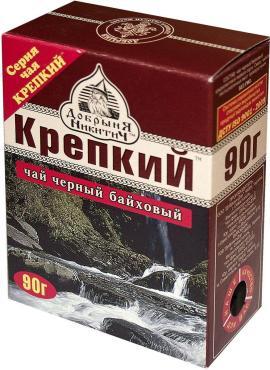 Чай черный крепкий среднелистовой Добрыня никитич, 90 гр., картон