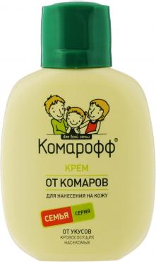 Крем от комаров Комарофф, 60 мл., ПЭТ