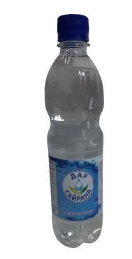 Вода Дар Сайрана питьевая газированная ,500 мл.,ПЭТ