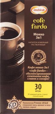 Напиток кофейный растворимый мокко 3в1 Doshirak Соfefardo, 15 гр., сашет